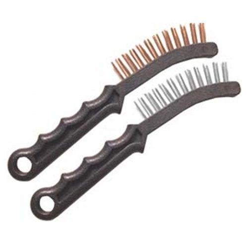 Caliper Cleaning Brushes Pair - Steel & Brass